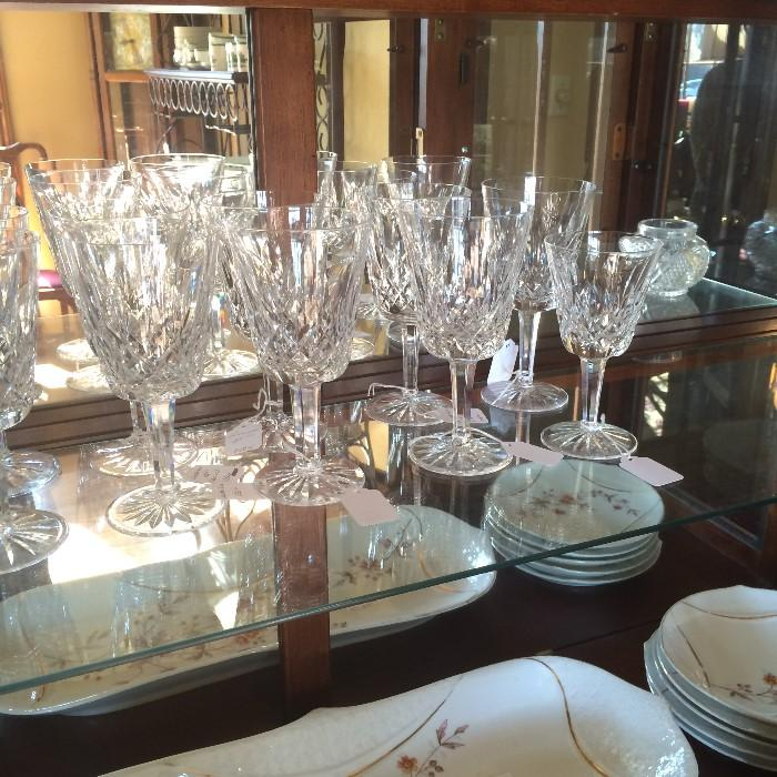 Waterford crystal glassware