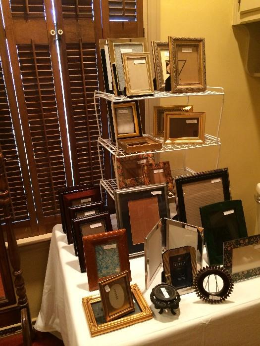 Great selection of picture frames