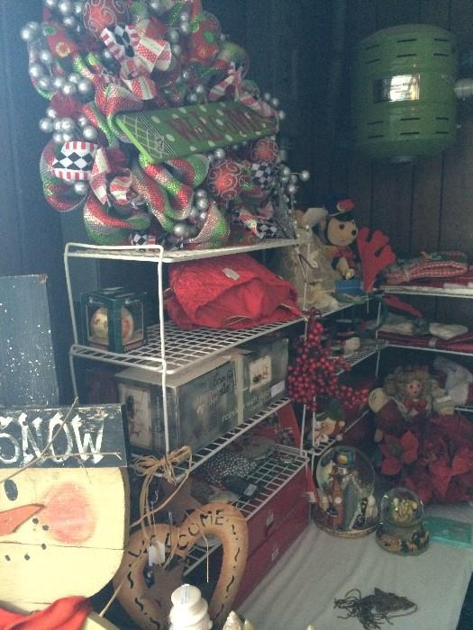 Many Christmas & other holiday items