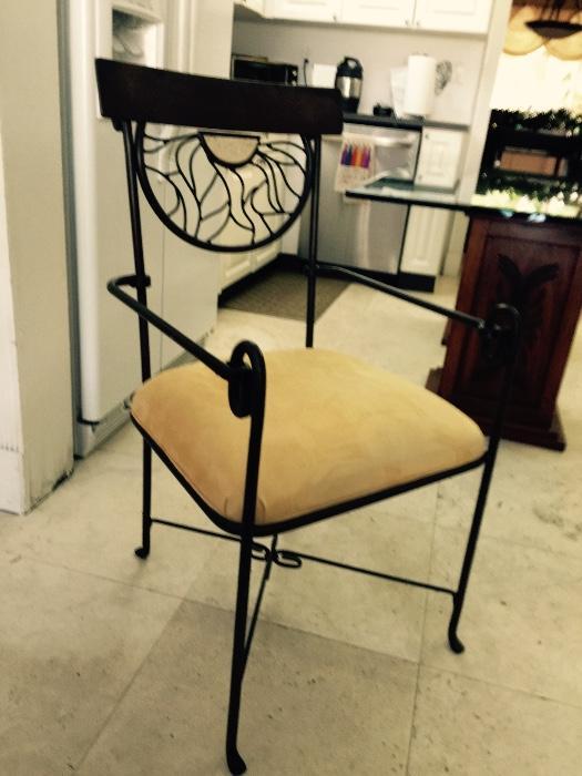 Pair Alexandra Diaz Iron Chair