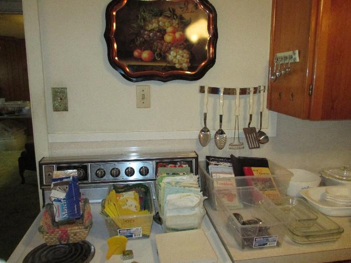 Miscellaneous Kitchen Along With A Cutco Utensil Set