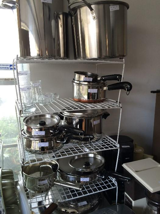 Large amount of great cookware (some never used)
