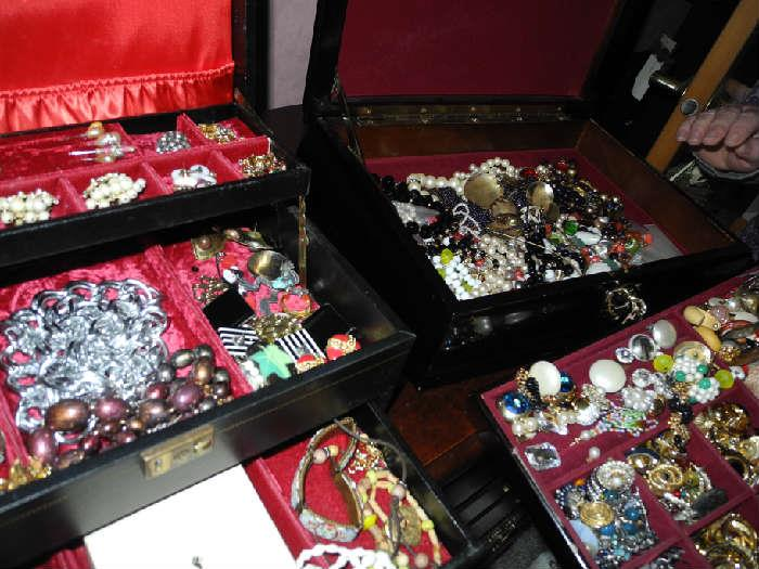 Costume jewelry - more pics to come when sorted