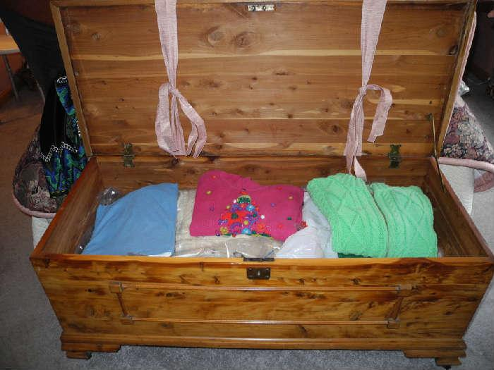 Nice vintage blanket chest
