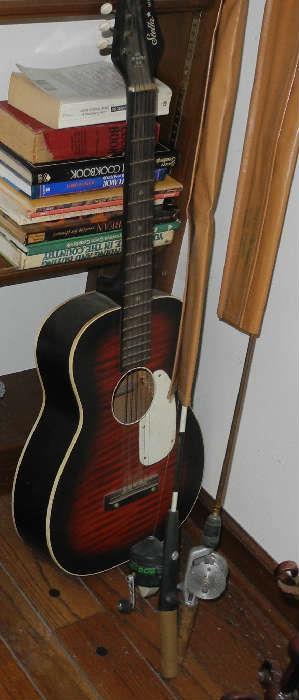 Stella Harmony guitar c. 1970's