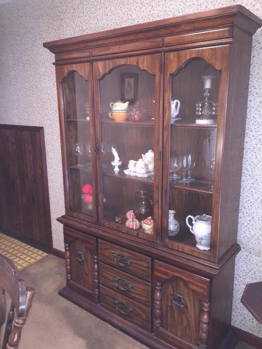 Two Matching Brohill China Cabinets