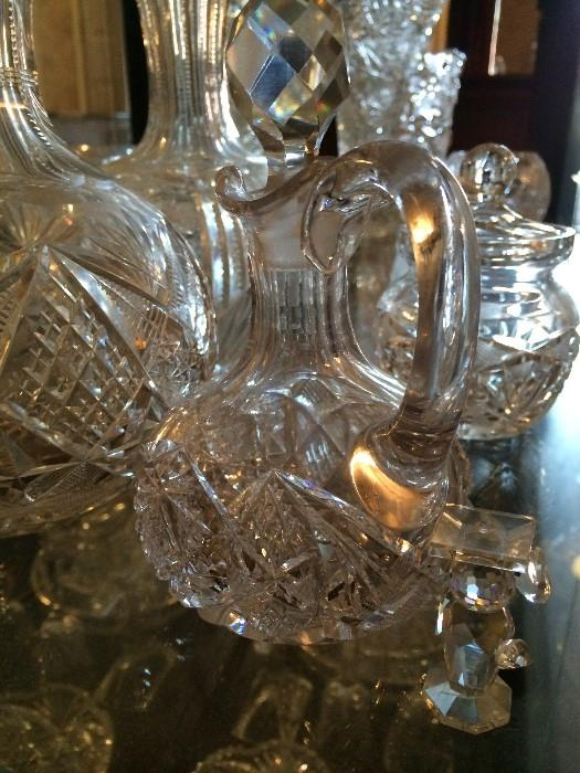 More of the exceptional glassware & cut glass