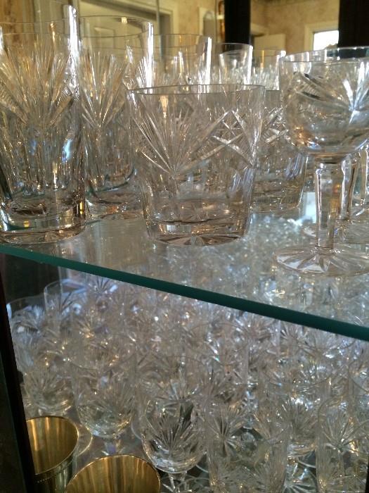 Lovely glassware & crystal