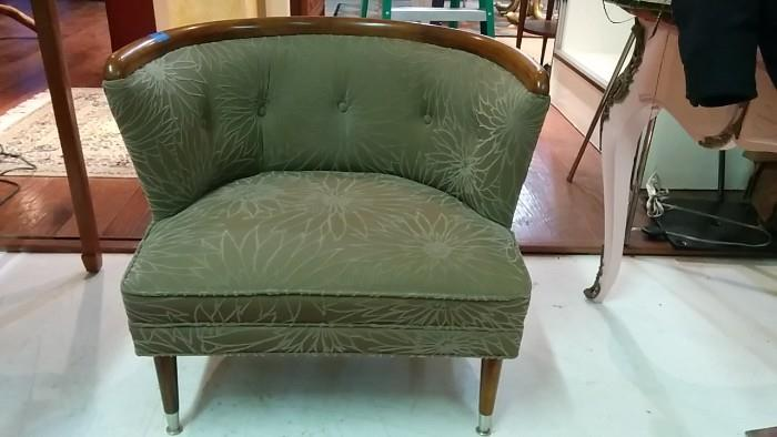 Not a love seat, but Kim Kardashian would feel right at home sitting in this.