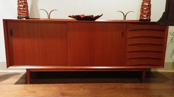 LOVE this Arne Vodder sideboard - you will too. It ain't cheap, unlike me...