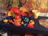 Bauer Pottery, Lots of Ringware