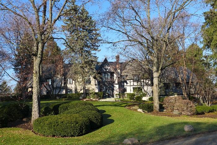 Historic Bloomfield Hills Manor Home