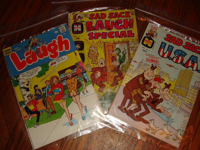 Sad Sack Archie comics