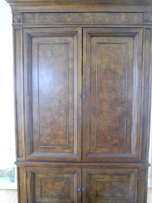 Lovely Ethan Allen hutch (yes, it can be repurposed!)