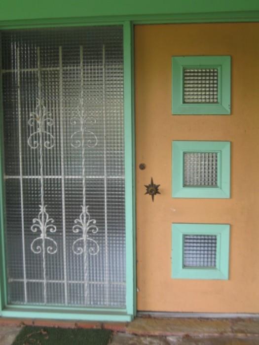 FRONT DOOR TO THE STARDUST MOTEL