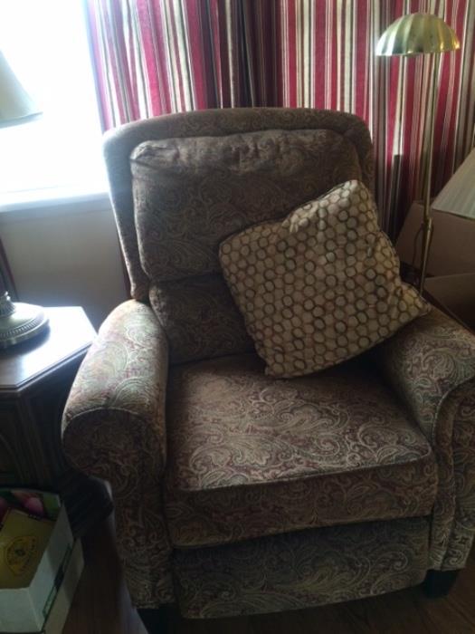 tapestry recliner