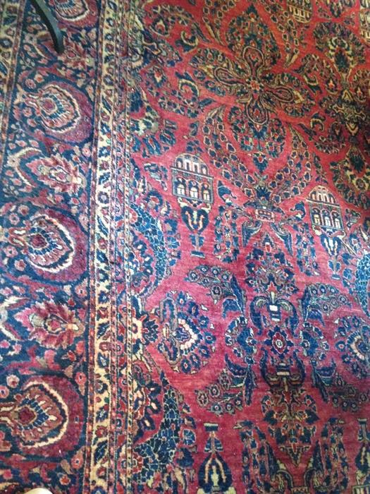 Sarouk Palace Size Carpet