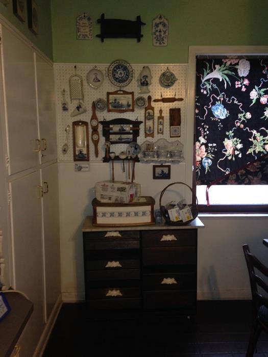 Assorted Delft, Meissen & Other Kitchen items
