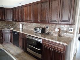 All cabinets and Granite counter tops are for sale. I will post measurements the week before the sale