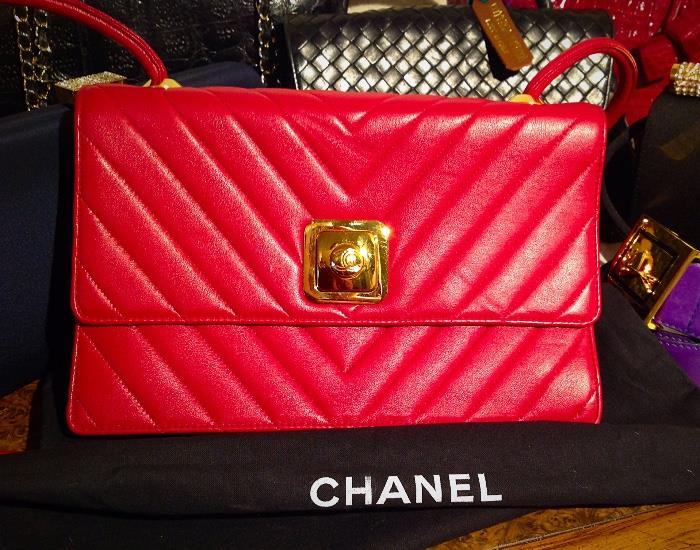 Chanel Purses, Shoes and Sunglasses