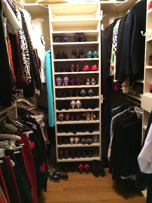 Closets and Racks PACKED with Fine Fashion!