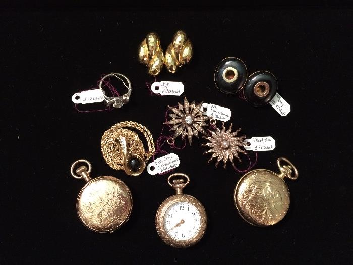 Fine Gold Jewelry & Gold Ladies' Watches