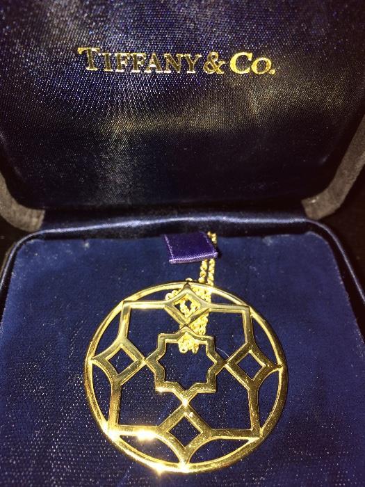 Tiffany & Company Gold Necklace