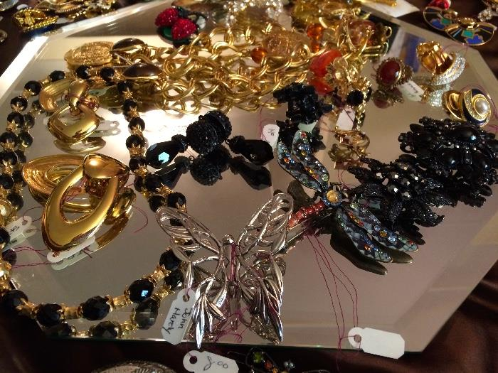 Quality Costume Jewelry Including St. John, Miriam Haskell & More
