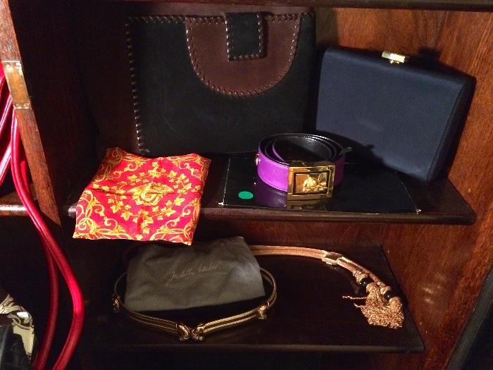 Versace, Hermes, Judith Leiber & More