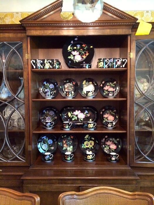 Tiffany & Co Wildflowers Pattern Fine China Set