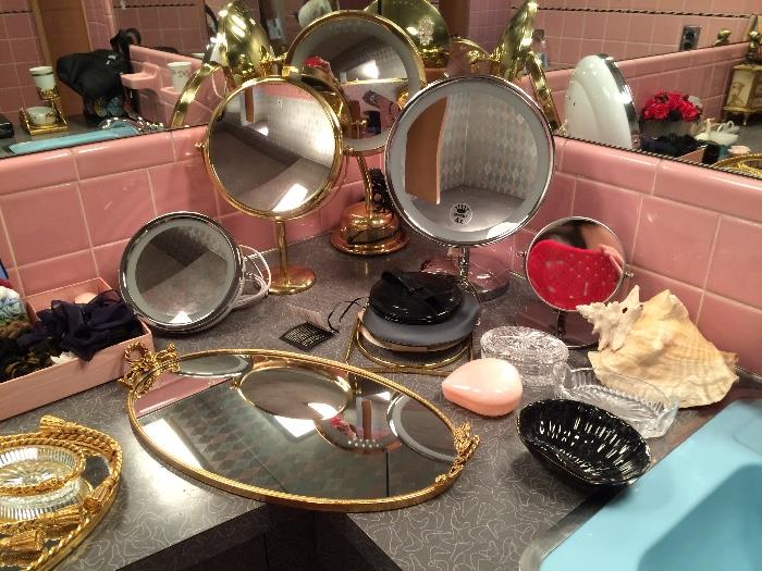 Vintage and Newer Vanity Items