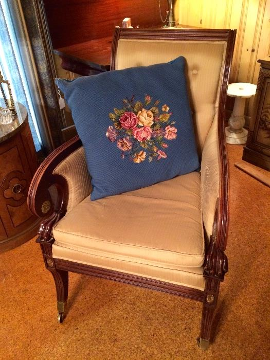 Regency Chair with Casters