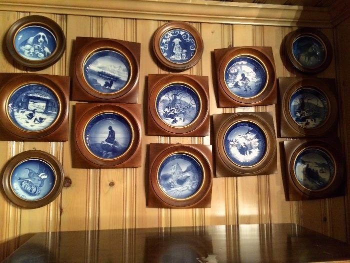 Bing & Grondahl Framed Plates