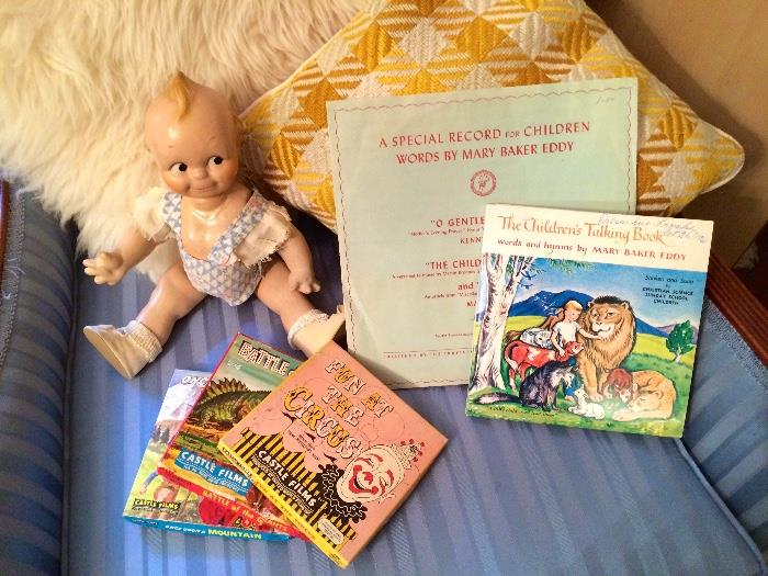 Scootles Kewpie & Children's Records / Films