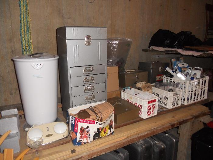 Towel Warmer, Vintage Filing Cabinets and More
