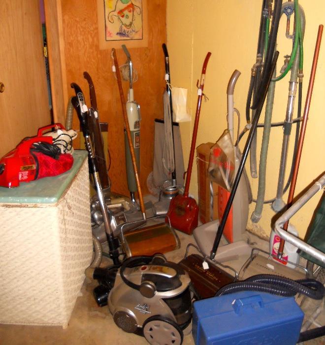 Vintage Vacuums and Floor Sweepers