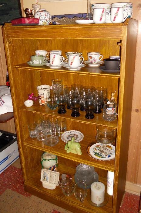 Vintage Glassware, Teacups and Porcelain