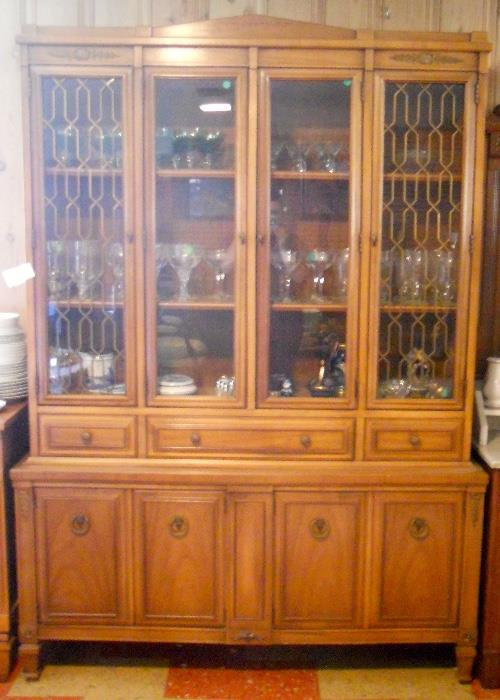 Vintage Breakfront / China Cabinet