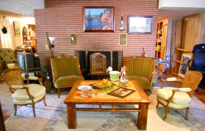 Multitudes of Vintage Furniture and Decorative Items