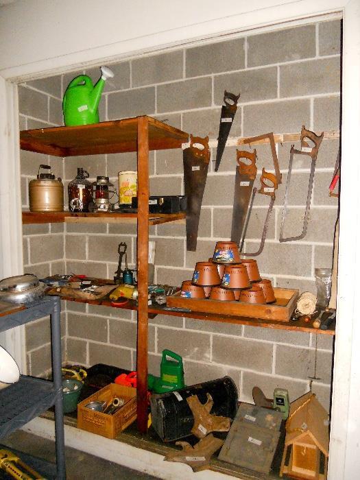 Tools and Yard Items