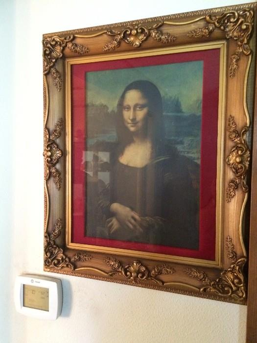 Mona Lisa Limited Edition Picture