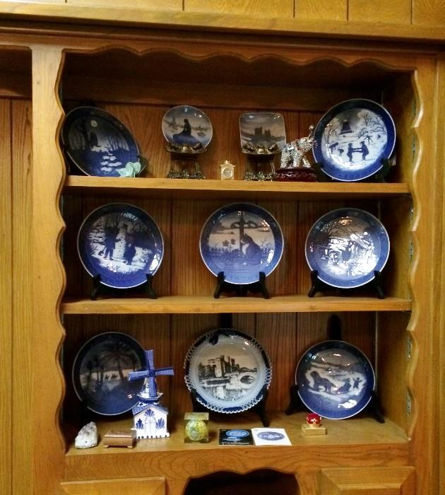 Delft and plates from Holland