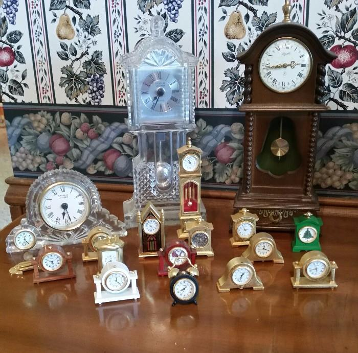 Cool Collection on miniature clocks