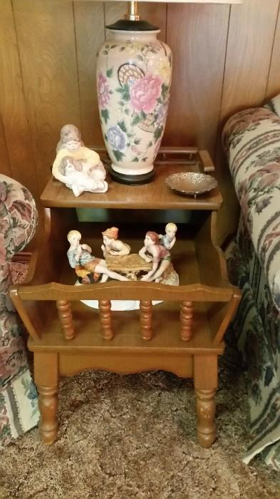 Early American Style End Tables