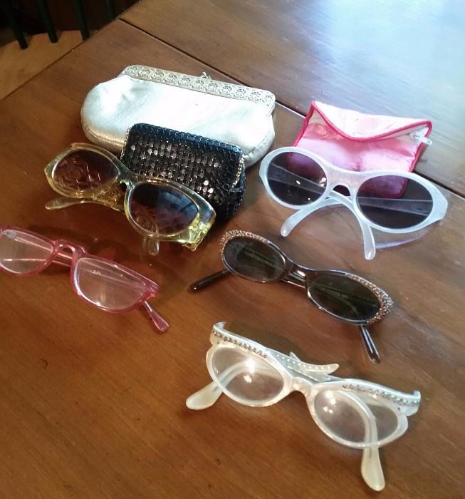 Groovy Vintage Glasses :)