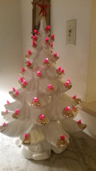 """The Famous J&S Ceramic Christmas Tree.....we """"almost"""" always have one at our sales :)"""