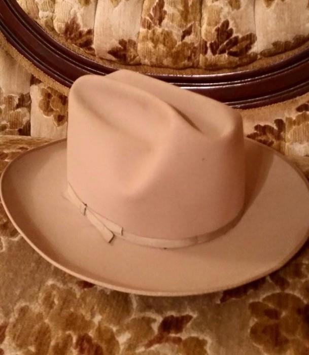 LBJ Style J Lee Western Hat