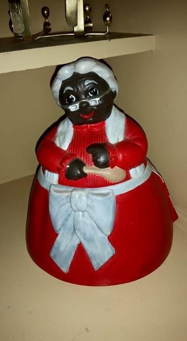 Aunt Jemima Cookie Jar