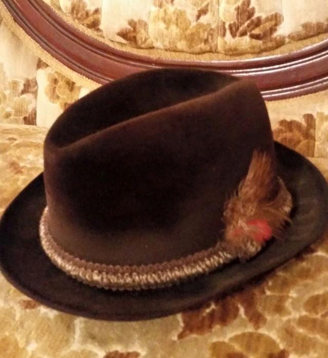 Vintage Resistol Derby Hats
