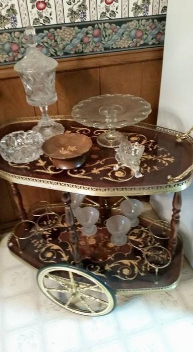 Ornate Tea/ Butler's cart